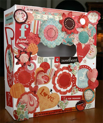 Valentine Box for Class Party - Dripping Springs Elementary- Photo by