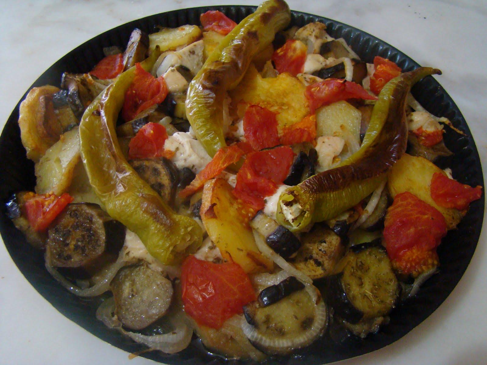 Tavuklu Patlıcan Çevirme