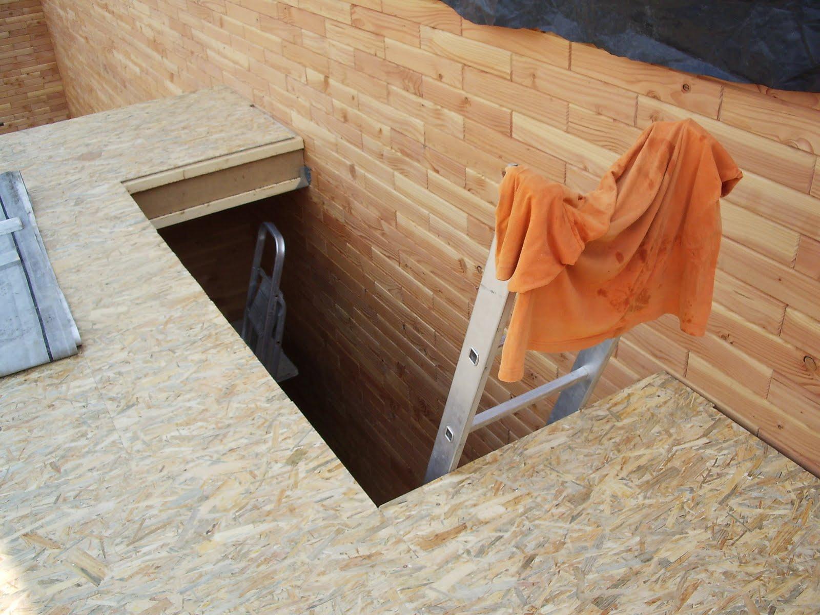 ma maison en parpaings de bois BVB Le solivage de la moitié de la maison& plancherétage # Solivage Plancher Bois