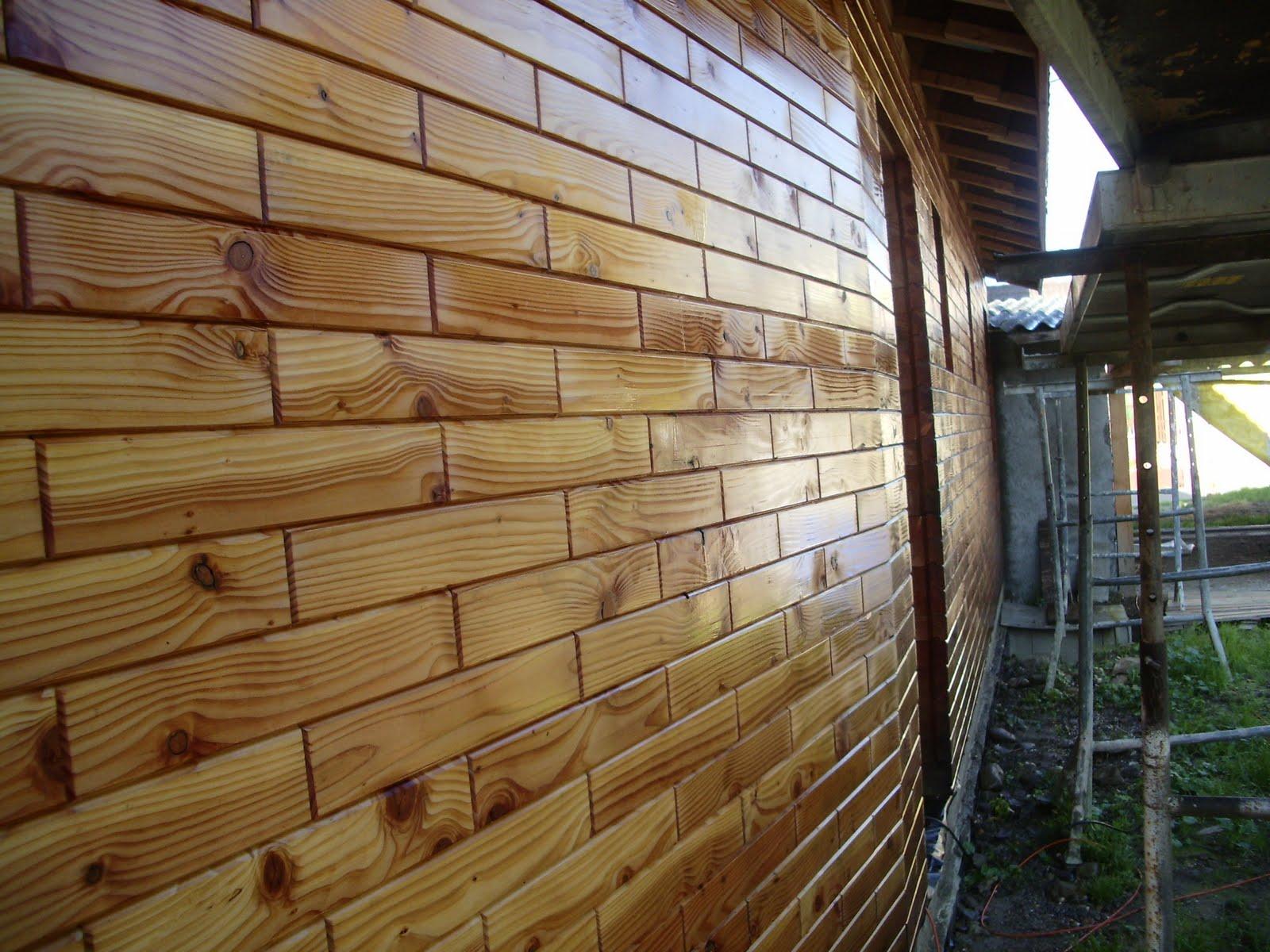 ma maison en parpaings de bois BVB Traitement du bois ~ Maison Parpaing Bois