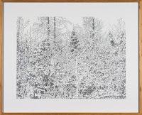 Richard Müller: Winterzeichnung Randen 3