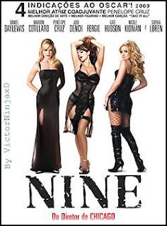 Filme Poster Nine DVDRip RMVB Dublado