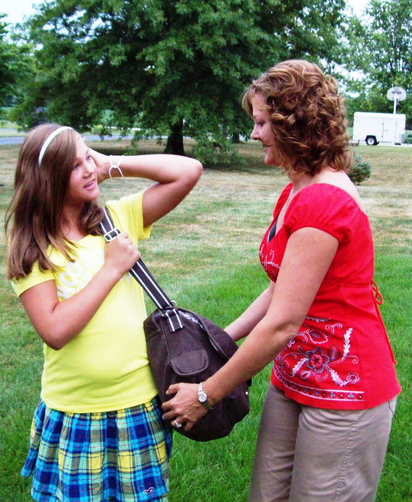 Middle School: Support For Christi Thomas: First Day Of Middle School