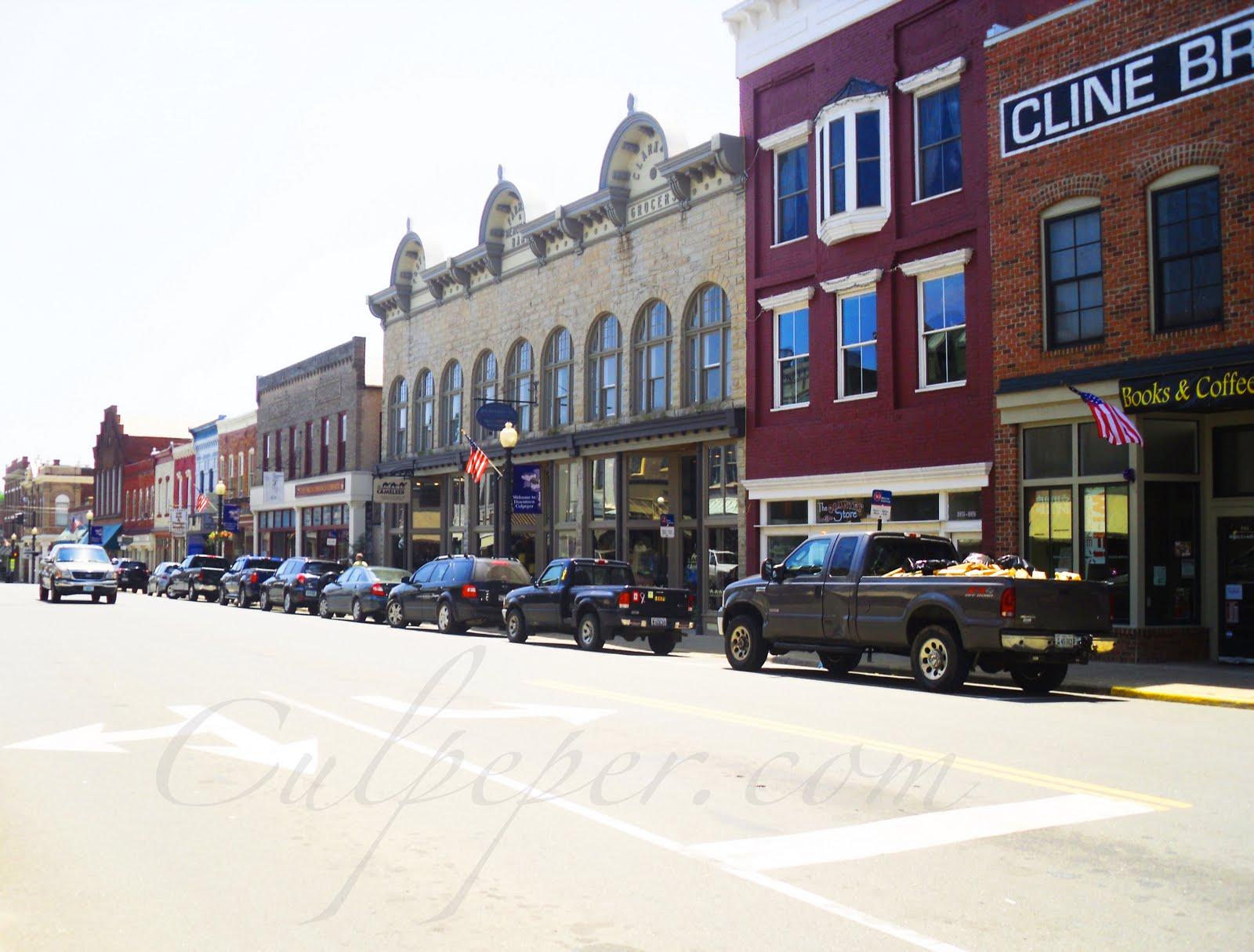 Downtown Culpeper Va Restaurants