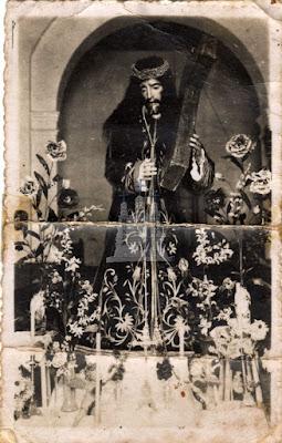 Antigua talla de Jesús, Monda