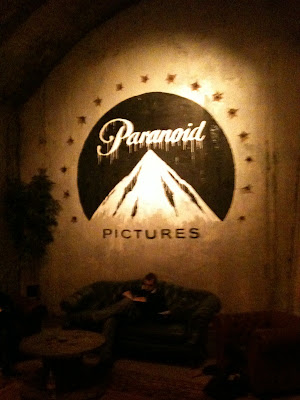 Another screening of Banksy film, this time in his pop-up cin... on Twitpic
