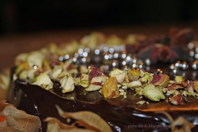 Pistachio Tort Z Czekoladowych Musow Dla Nel