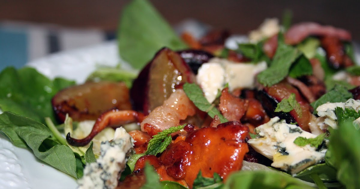Pistachio: Szwedzkie smaki czyli sałatka z kurkami.