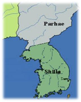 Pinag-isang Silla (668-935 C.E.).
