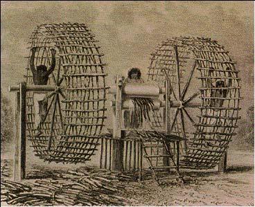 Máy chạy bộ trong lịch sử là một cỗ máy tra tấn tù nhân tàn ác.
