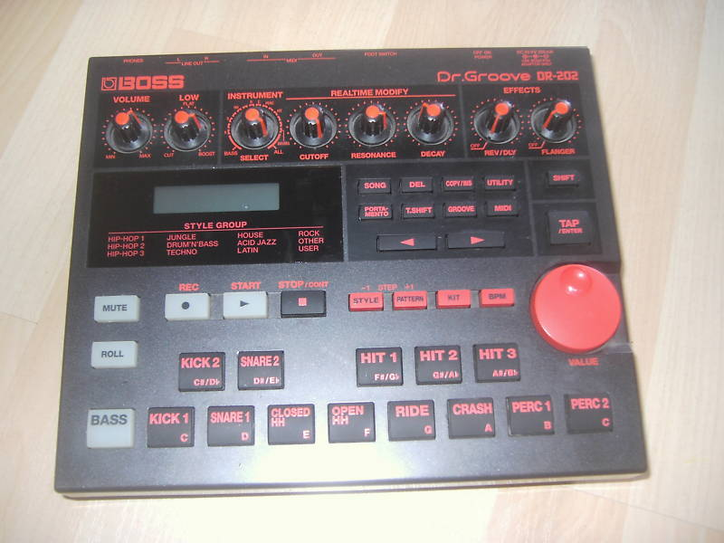 dr groove drum machine
