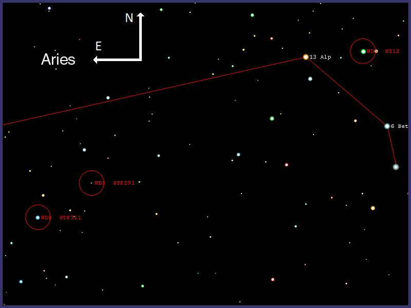Estrellas dobles en Aries, 13-10-2010 H512-00