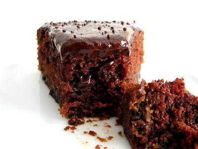 pastry studio: Chocolate Prune Cardamom Cake