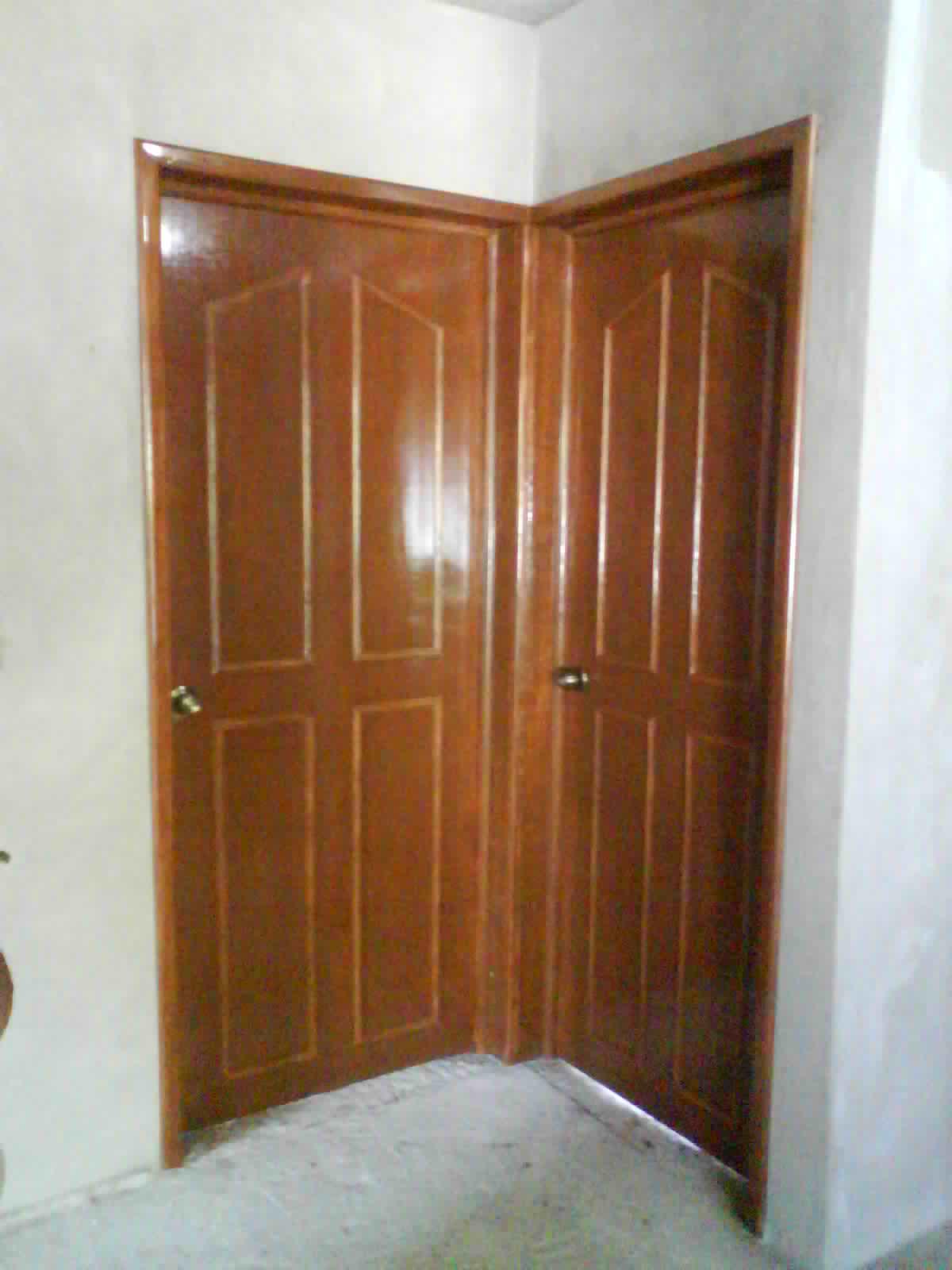 Puertas De Baño Alfa S A:PUERTA DE TAMBOR CON TRIPLAY DE CAOBILLA DE 6mm