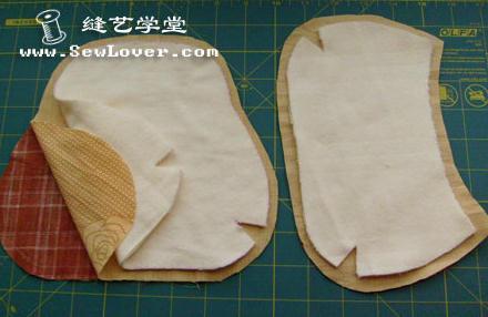 Costure as laterais fechando as partes picotadas: Antes, costure o