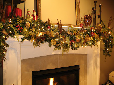 holiday garland tutorial