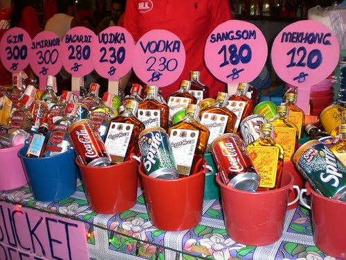 Do it Yourself Thai Buckets for the Full Moon Party!! | Intoxicated ...
