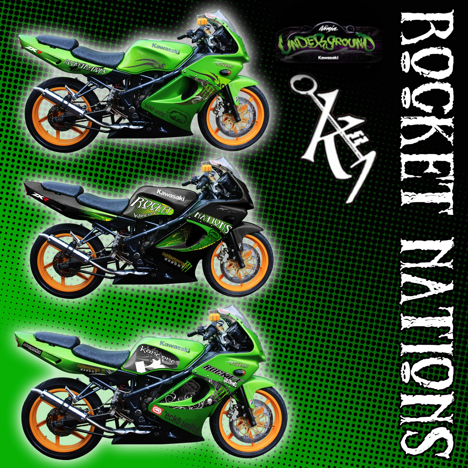 Wallpaper Kawasaki Ninja 150 Rr 2014