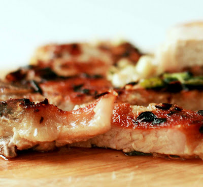 QlinArt: Grilled Pork Chops with Lemongrass and Ginger