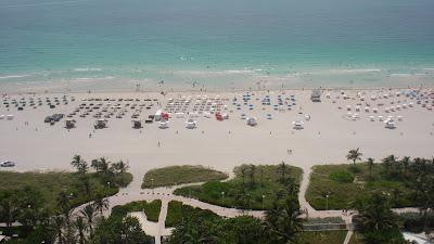 the shore club hotel view in miami