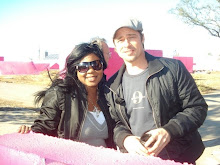 Connecticut Makeup Artist & Beauty Expert Brandy Gomez-Duplessis with Actor Brad Pitt