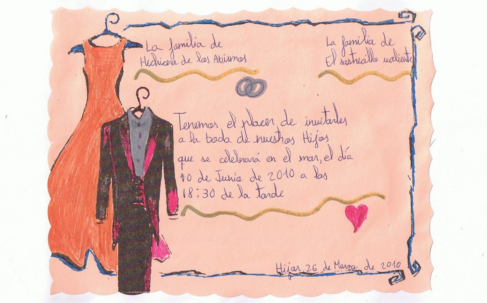 Invitaciones de boda texto cristiano - Tarjeta de boda ...
