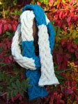 Talus Cabled Scarf Pattern