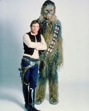 han solo and chewbaca