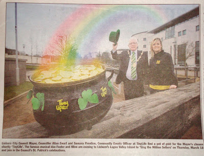 Picture from last week's Lisburn Echo