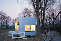 Micro Compact Home - at night