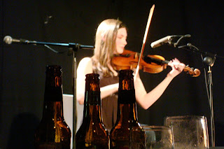 Zo Conway at 2009 Out to Lunch festival in Belfast's Black Box