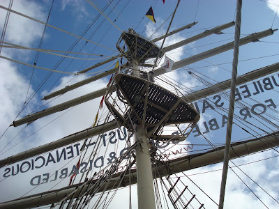 Tenacious - Tall Ship, Belfast