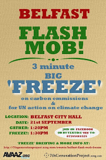 Belfast Flash Mob Freeze