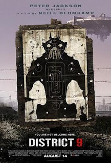 Poster for the film District 9