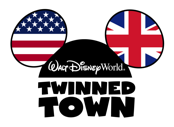 Walt Disney World Resort Florida - Twinned Town logo