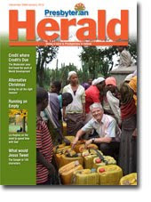 Cover of Dec 2009/Jan 2010 issue of Presbyterian Herald