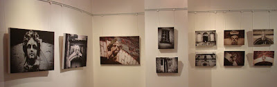 Photos at David Cleland's Through the Mill exhibition