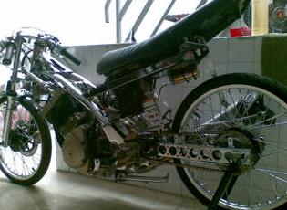 Foto Modifikasi Motor Drag Yamaha