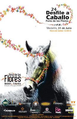 Cabalgata Feria de las Flores 2010