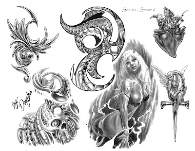 Check out more of Edward Lee's tattoo designs!