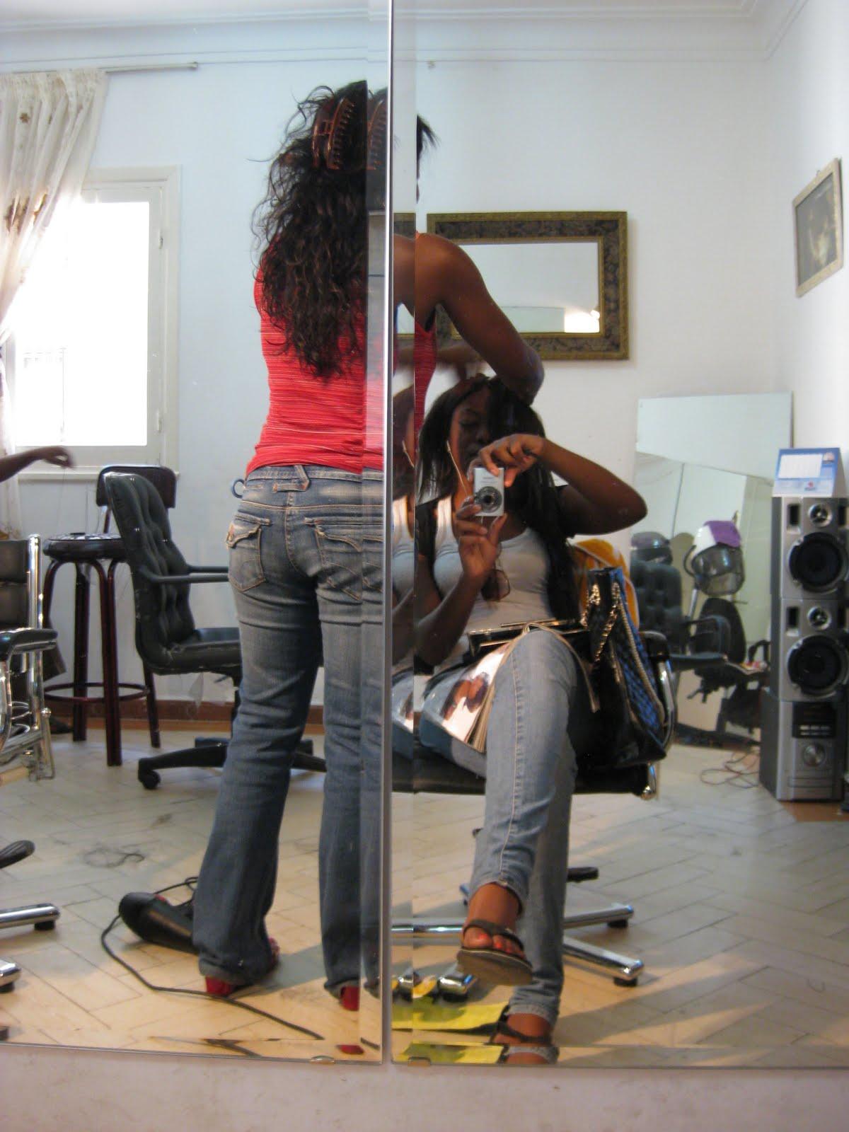 Black Salon : Black in Cairo: Black Hair Salon in Cairo! BeaBeauty Salon