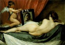 La venus del espejo, de Diego Velázquez