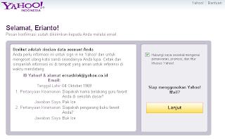 Membuat Email di Yahoo