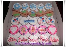 Fondant & Buttercream Cupcakes