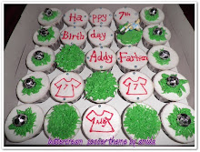 Soccer Theme Cupcakes