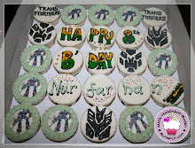 Transformers Theme Cupcakes