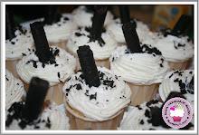 Oreo Stick Choc Moist Cupcakes