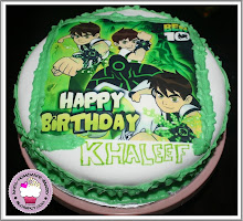 BEN10 Theme Cake
