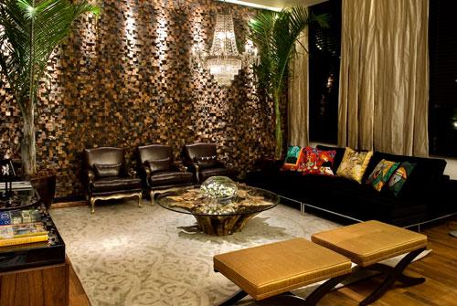 Arquitetando pedras decorativas mosaicos e canjiquinha - Paredes decorativas interiores ...
