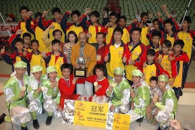 世界舞獅邀請賽 麻坡關聖宮奪冠